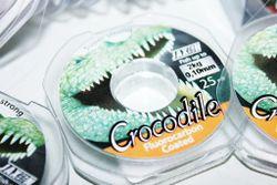 Леска флюрокарбоновая Jaxon Crocodile 25м 0.10мм