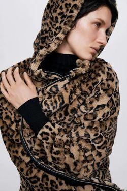 Куртка ZARA Леопард zara 6318/229/051