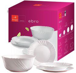 купить Набор посуды Bormioli Rocco 35327 Набор тарелок Ebro 19ед в Кишинёве