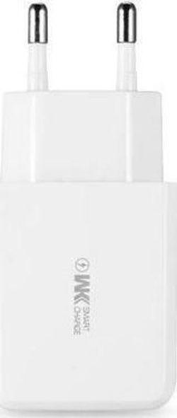 купить Зарядное устройство сетевое WK Design WP-U60 Wall Suda Charger White в Кишинёве