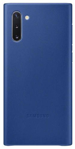 cumpără Husă telefon Samsung EF-VN970 Leather Cover Blue în Chișinău