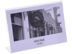 Rama foto din plastic L-forma orizontala 10X15сm
