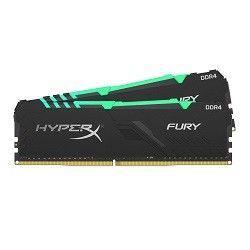 32GB DDR4-3000MHz  Kingston HyperX FURY RGB (Kit of 2x16GB) (HX430C15FB3AK2/32), CL15-17-17, 1.35V