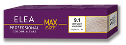 Краска для волос,SOLVEX Elea Max, 100 мл., 9.1 - Блондин пепельный