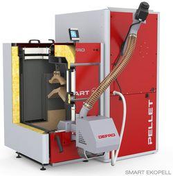 Твердотопливный котел Defro Smart EkoPell 12kW