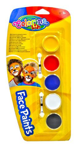 Краска для лица 5 цвт. Colorino