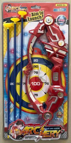 Игра с луком и стрелами на присосках X (4307)
