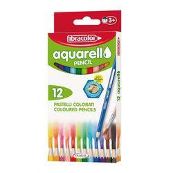Карандаши цветные Fibracolor Aquarello 12 цветов акварельные