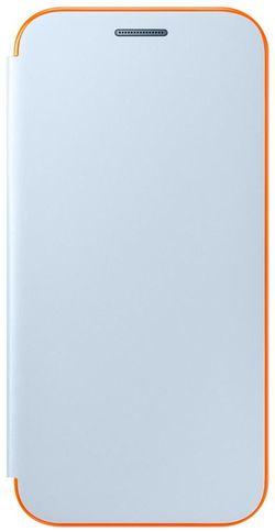 cumpără Husă pentru smartphone Samsung EF-FA320, Galaxy A3 2017, Neon Flip Cover, Blue în Chișinău
