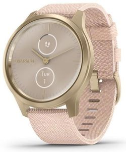 купить Фитнес-трекер Garmin vivomove Style, S/E EU, Light Gold, Blush Pink, Nylon в Кишинёве