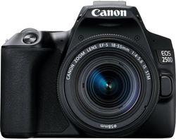 cumpără Aparat foto DSLR Canon EOS 250D 18-55 IS STM Black (3454C007) în Chișinău