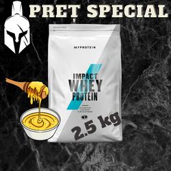 Сывороточный протеин (Impact Whey Protein) - Золотой сироп - 2.5 KG