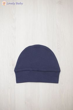 Шапочкa C03 синяя