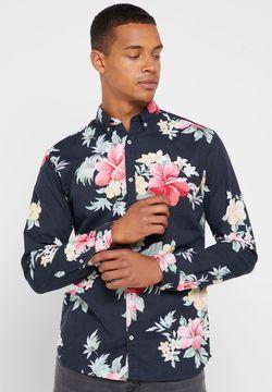 Рубашка JACK&JONES Черный с принтом 12151589