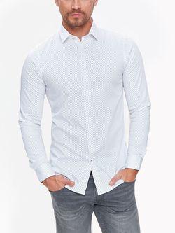 Рубашка TOP SECRET Белый с принтом skl2688