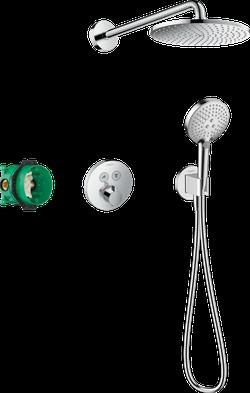 Raindance S240 PowderRain Sistem de dus cu montare ascunsa si termostat ShowerSelect