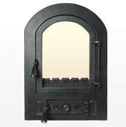 Дверца чугунная со стеклом Weekend - Nicoleta mare