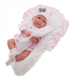 Doll baby Nicky roz 40 cm Cod 3382