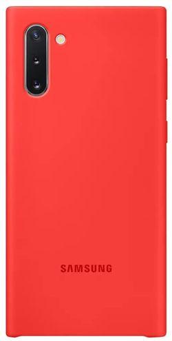 cumpără Husă pentru smartphone Samsung EF-PN970 Silicone Cover Red în Chișinău