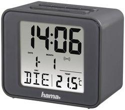купить Часы-будильник Hama 176912 Cube grey в Кишинёве