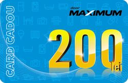 cumpără Certificat - cadou Maximum 200 MDL în Chișinău