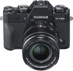 Aparat foto Fujifilm X-T30 Kit XF18-55mm Black