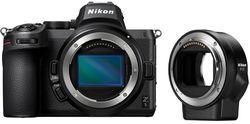 cumpără Aparat foto mirrorless Nikon Z 5 + FTZ adapter în Chișinău