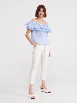Блуза RESERVED Голубой