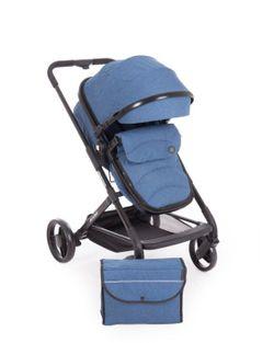 Stroller Kikka Boo Stroller 2 in 1 Amulett Dark Blue