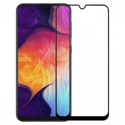 Защитное стекло Cover'X для Samsung A20s 3D (full covered) Black