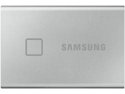 .500 ГБ (USB3.2 / Type-C) Samsung Portable SSD T7, красный (85x57x8 мм, 58 г, R / W: 1050/1000 МБ / с)