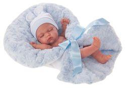 Doll baby Looney cu o pătură 26 cm Cod 4074
