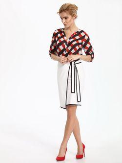 Блуза TOP SECRET В клетку skl2333