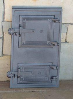 Дверца чугунная глухая правая DPK11