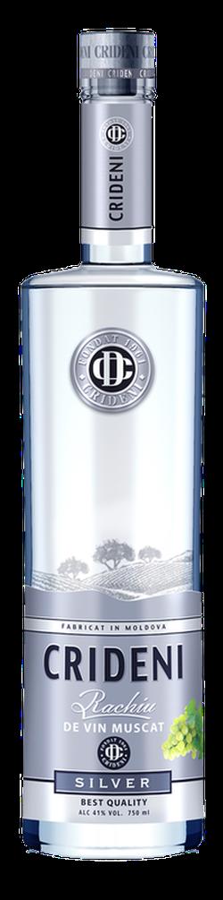 Crideni Silver Rachiu de vin Muscat,  0.5L
