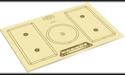 Plită incorporabilă cu inducție Kaiser KCT 7795 FI Elf Em