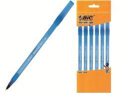 Набор ручек шариковых BIC Round Stic 6шт, синих