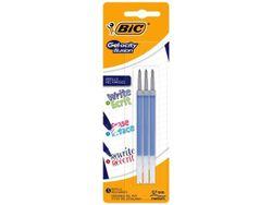 Стержень для ручки роллер BIC Gelo-city Illusion 3шт, синий
