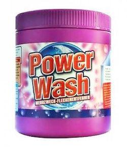 Пятновыводитель - порошок колор Power Wash 600 г