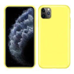 купить Чехол для смартфона Helmet iPhone 11 Pro Yellow Liquid Silicone Case в Кишинёве