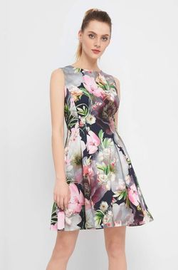 Платье ORSAY Цветочный принт