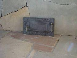 Ușa din fonta DPK6