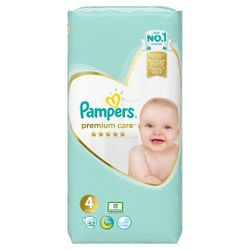Подгузники Pampers Premium Care 4 Maxi (9-14 kg) 52 шт
