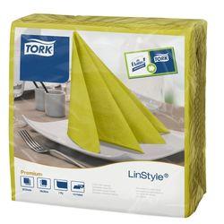 Tork Linstyle обеденные салфетки, 1сл, 39x39 Pistachio
