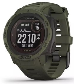 купить Смарт часы Garmin Instinct Solar – Tactical Edition Moss в Кишинёве