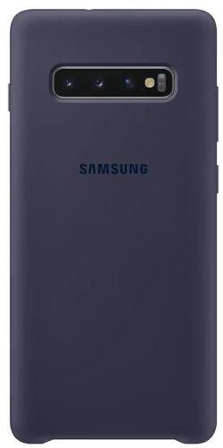 cumpără Husă telefon Samsung EF-PG975 Silicon Cover S10+ Darkblue în Chișinău