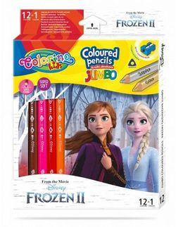 Цветные карандаши Jumbo - Colorino Disney Frozen