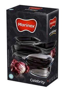 Набор посуды/термо- стекло MARINEX NR-6788/936 (0,8+1,54+1,6+2,4+2,9 л)