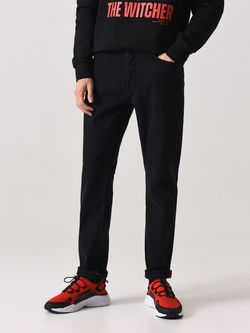 Pantaloni CROPP Negru