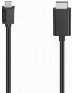 cumpără Cablu IT Hama 200717 Video Cable, USB-C Plug - DisplayPort Plug, Ultra-HD 4K, 1.50 m în Chișinău